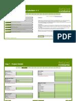 PCRS Waste Calculator v1.1