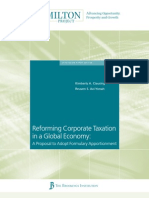 Reforming CT in a Global Economy