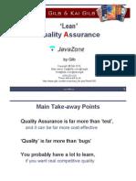 Lean Quality Assurance v3