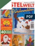Bastelwelt Weihnachten 40 Zauberhafte Fensterbilder[1]
