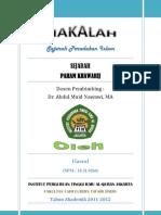 Sejarah Paham Khawarij PDF
