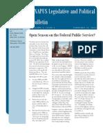 eNAPUS Legislative and Political Bulletin 9.2