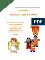 Napravite Lutke Od Papira