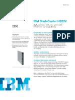 IBM Blade Center HS22V