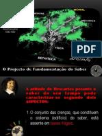 O Projecto de Fundamentação do saber