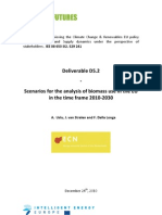 D5_2 Scenarios for the Analysis of Biomass Use in the EU in the Time Frame 2010-2030