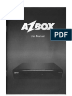 Manual AZBOX BRAVOO Traduzido