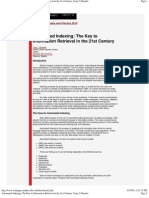 Automated Indexing_ The Key to Information Retrieval in the 21st Century, Tony I