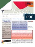 Weekly Pulse 22