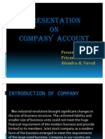 PPT on Company
