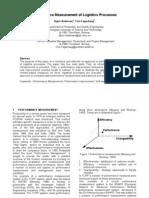 Performance Measurement of Logistics Processes