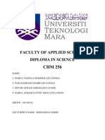 Lab Report Chm 256