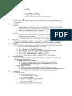 Scheme of Analysis (Unknown 5)