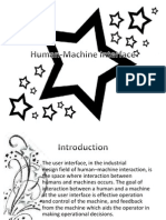 Bap Human-Machine Interface Report