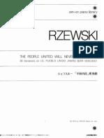 Rzewski People
