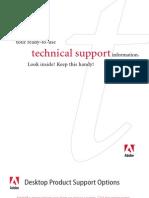 Adobe Support Info