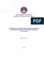 Thesis for Slab Analysis