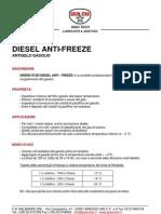 Anticongelantegasolioscheda tecnica