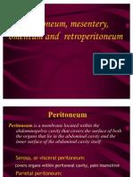 Peritoneum, Mesentery Omentum, RP