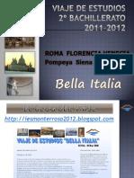 Viaje de Estudios 2011-2012-Italia