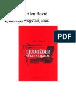 Alen Bovic-Ljudozder Vegetarijanac