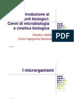 7. Introduzione Ai Processi Biologici