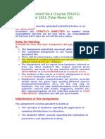 Fall 2011_STA301_4_SOL