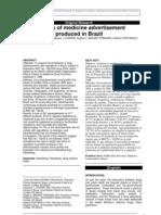 Analysis of Medicine Advertisement
