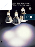 GE Incandescent ER Lamps Brochure