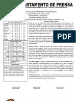 Reporte #6 Guaros - Trotamundos