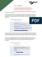 Internet-Banking - Wechsel Von Matrixkarte Auf SMS-Code