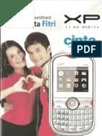 XP Cinta User Manual Guide