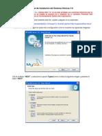 Manual de Instalación del Sistema Clínicas 7