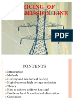 Deicing of Transmission Line