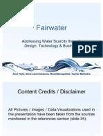 FairWater - Business Model Analysis