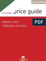 R-M Letter Price Guide 4.4.11