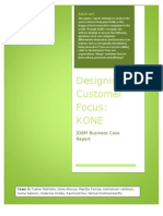 Designing Customer Focus at KONE