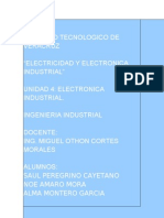 Unidad 4 Electric Id Ad y Electronic A Industrial