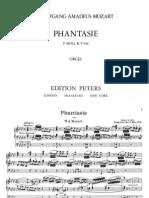 Mozart Organ Fantazija in f Minor