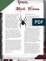 Vampire the Requiem - Bloodline - Black Widows