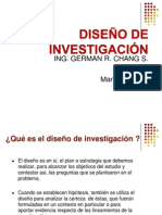 CLASE 007A-DISEÑO DE INVESTIGACION