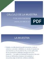 Clase 011a-Calculo de La Muestra