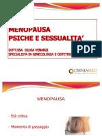 Menopausa Psiche e Sessualita
