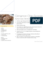 Cinnamon Chip Scones Like Panera 4x6