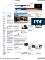 The New York Times - Breaking News, World News & Multimedia
