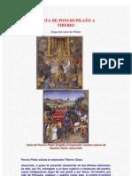 Carta De Poncio Pilato A Tiberio (Anónimo)