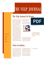 The Velp Journal - Edition 1