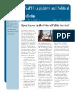 eNAPUS Legislative and Political Bulletin 9.2-