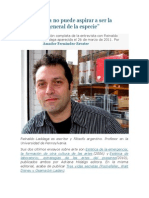 Entrevista a Reinaldo Laddaga por Amador Fernández-Savater