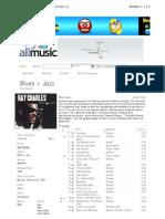 Jazz and Blues Ray Charles